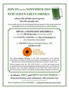 November New Haven Green Drinks: The Living Building Challenge