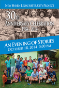 Evening of Stories / Noche de Cuentos.:  NH/LSCP 30th Anniversary Celebration