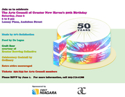 50th Anniversary of the Arts Council 60's  Party