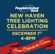 New Haven Tree Lighting Ceremony 2015