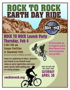 Rock to Rock Earth Day Ride Launch Party