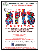 Free Expressive Arts Festival, Showcasing Works Created by Fellowship Place's Expressive Arts Program