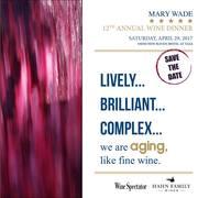 Mary Wade Wine Dinner