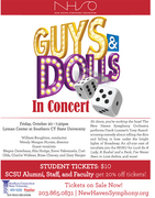 NHSO: 'Guys and Dolls' in Concert