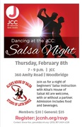 Dancing at the JCC: Salsa Night