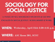 Sociology for Social Justice
