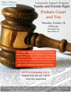 Probate Court and You