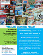 Continuum Vision Board Night