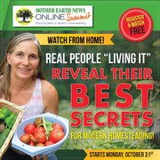 Mother Earth News Online Homesteading Summit