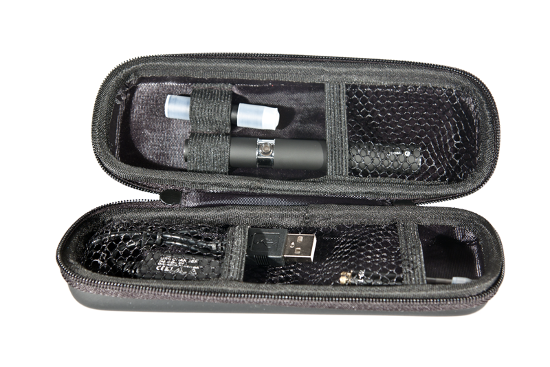 Pen style vaporizer kit (with case)