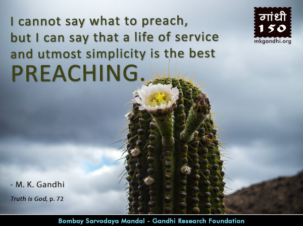 Thought For The Day ( PREACHING )