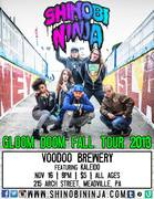 Shinobi Ninja featuring Kaleido and One If By Land LIVE at the Voodoo Brewery