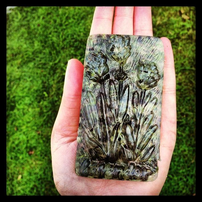 Home made Lavender soap