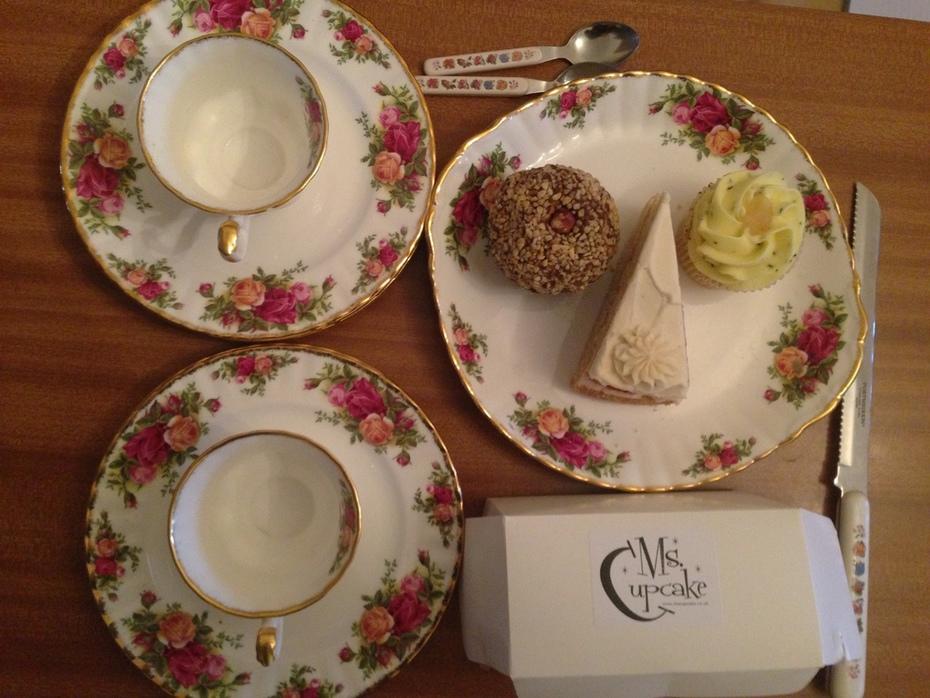vegan treat from ms cupcake Brixton London