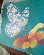 Creating something from nothing.Painting <3