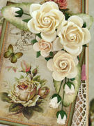 """Card using """"House of Roses"""" by LemonCraft!!"""