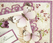 """Pansy Card using """"My Precious Daughter"""" by Pion Design"""