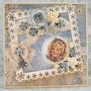 """Winter Card using Craft & You """"Frozen Paper"""""""