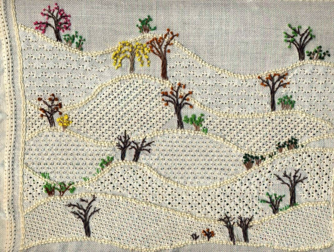 pulled thread embroidery pt28a