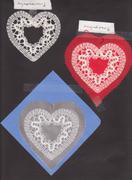 19. Tape Lace Heart