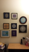 A Display of lace at home