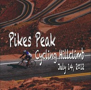 """Pikes Peak Cycling Hill Climb, (Formerly the """"Assault on the Peak"""")"""
