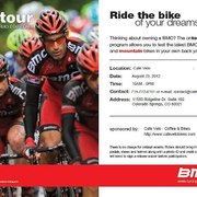BMC Bicycles Demo Day at Cafe Velo