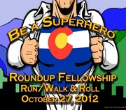 Be a Superhero Roundup Fellowship Run/Walk and Roll