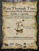 Run Through Time Marathon and Half Marathon