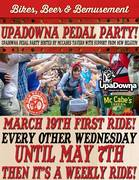 UpaDowna Pedal Party- A community cruiser ride!