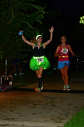 Area 13.1 night-time alien themed run!