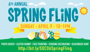 Sixth Annual Spring Fling at SOCO and The OC Mix!