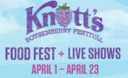 Knotts Boyesenberry Festival at Knott's Berry Farm