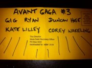 Sappho: Avant Gaga #3 – Gig Ryan, Kate Lilley, Duncan Hose, Corey Wakeling