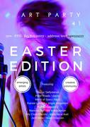 Art Party. The Easter Edition