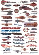 Harley-Davidson Decalsovertheyears