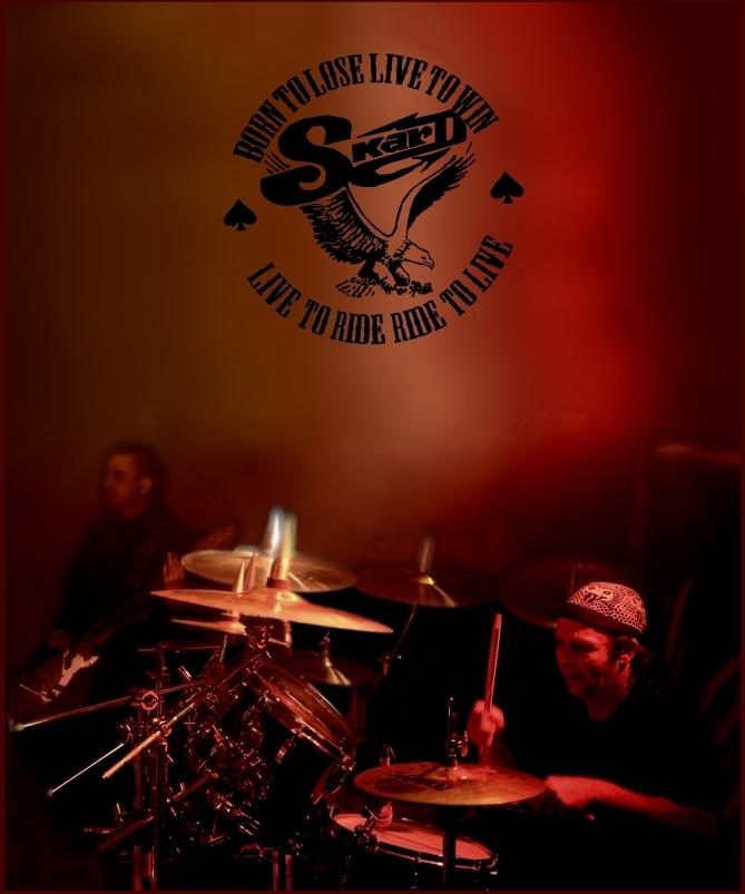 SKARD drummer SKARD rock band