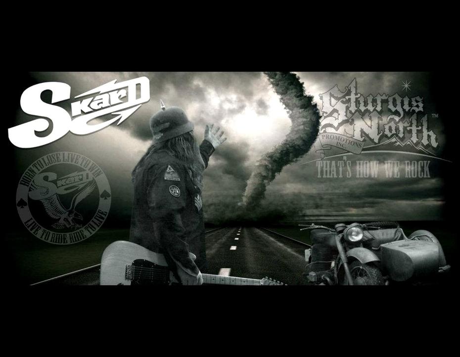 sturgis skard thats how we rock - SKARD rock band - True Biker Rock