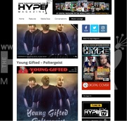 Hype Magazine Featuring Young Gifted & Their Hit Single Poltergeist