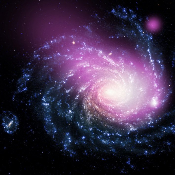 collision of galaxy