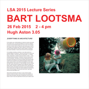 Bart Lootsma Open Lecture **CANCELLED