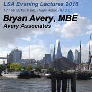 Bryan Avery MBE Open Lecture