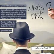 What Next? LRSA Event