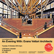 An Evening with: Evans Vettori Architects
