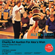 Charity Art Auction for Alex's Wish