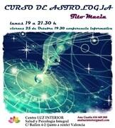 CURSO DE ASTROLOGIA EN VALENCIA CON TITO MACIA