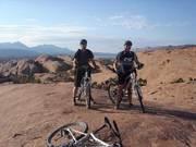 Slickrock-trail