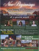 New Beginnings: Winter Solstice 2012 Workshop