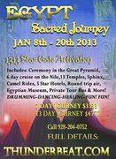 Sacred Journey Egypt