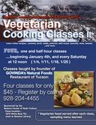 Vegetarian/Vegan Cooking Classes